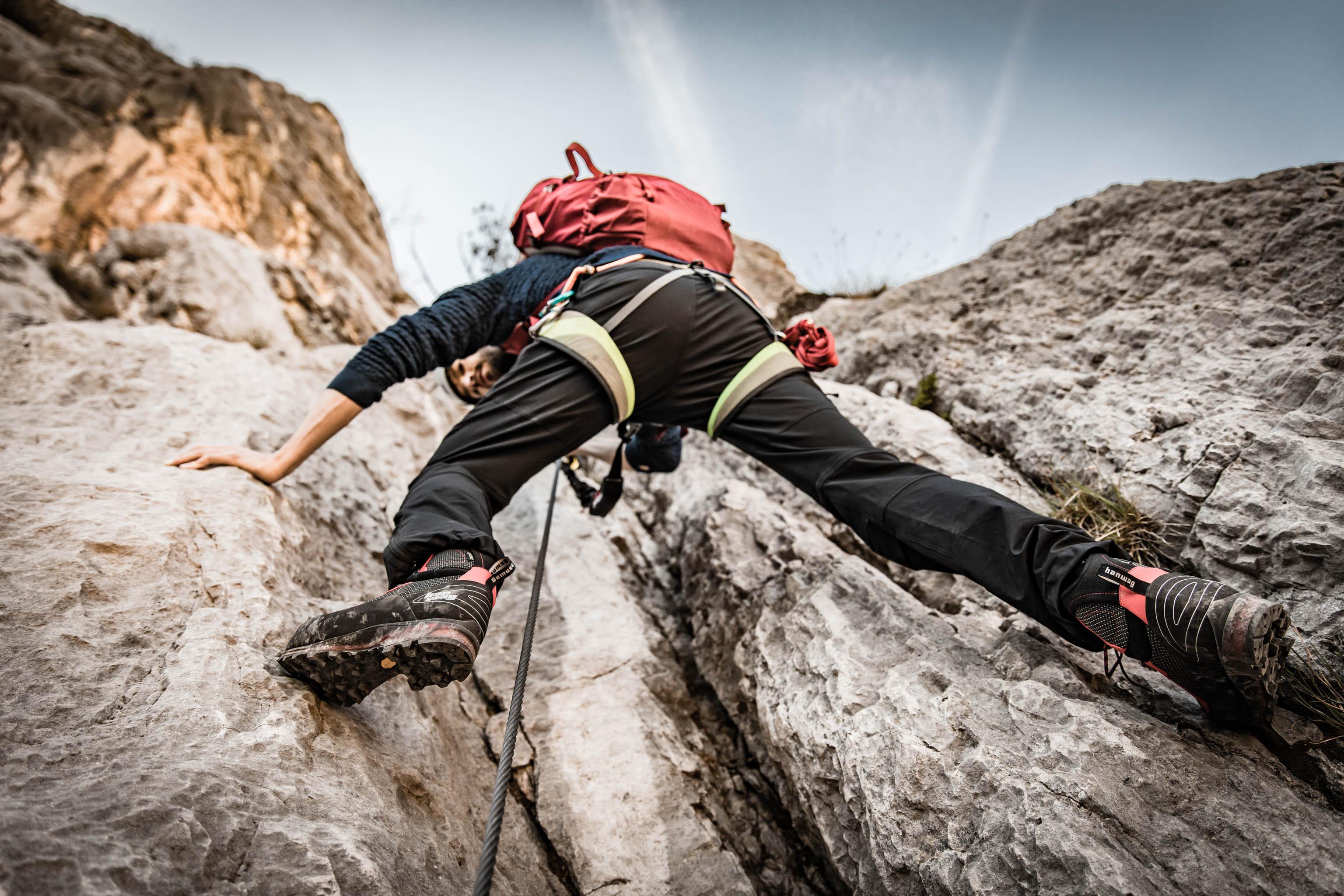 Bergstiefel einlaufen