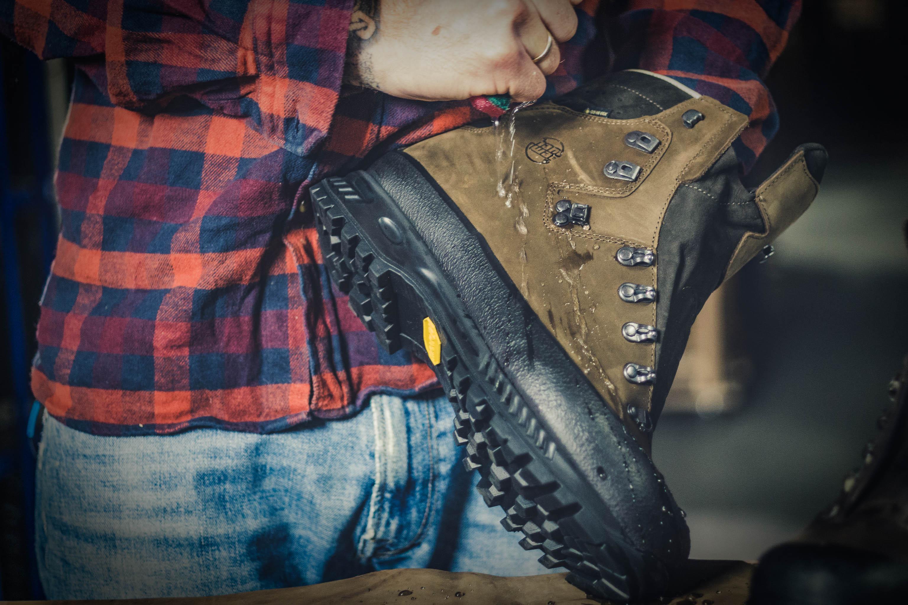 Gore-Tex Schuhe imprägnieren Hanwag Schuhpflege