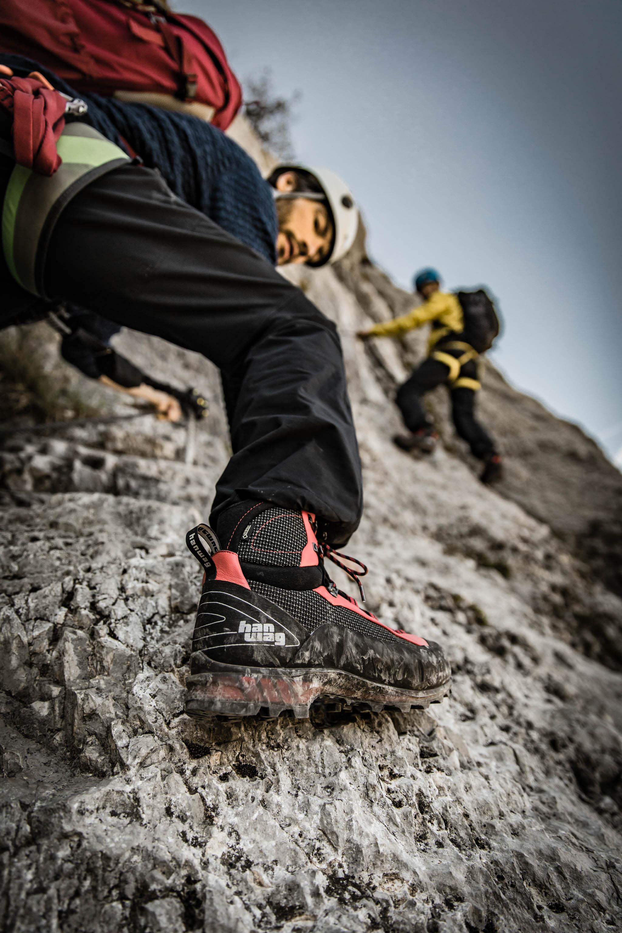 Lightweight mountain boot HANWAG Ferrata GTX mid