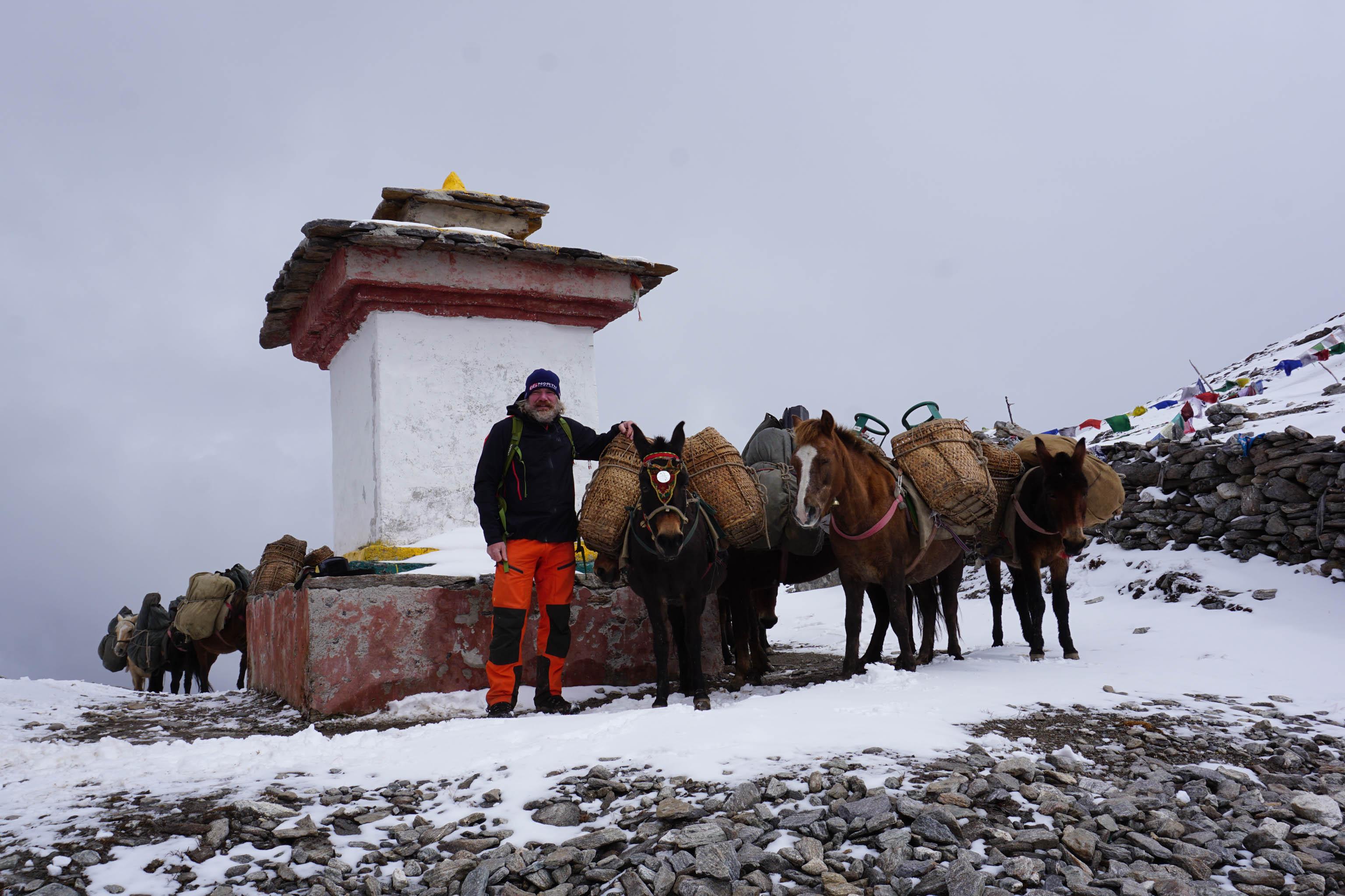 Best long distance hikes in the world - Thorsten Hoyer Snowman Trek Bhutan long distance trails
