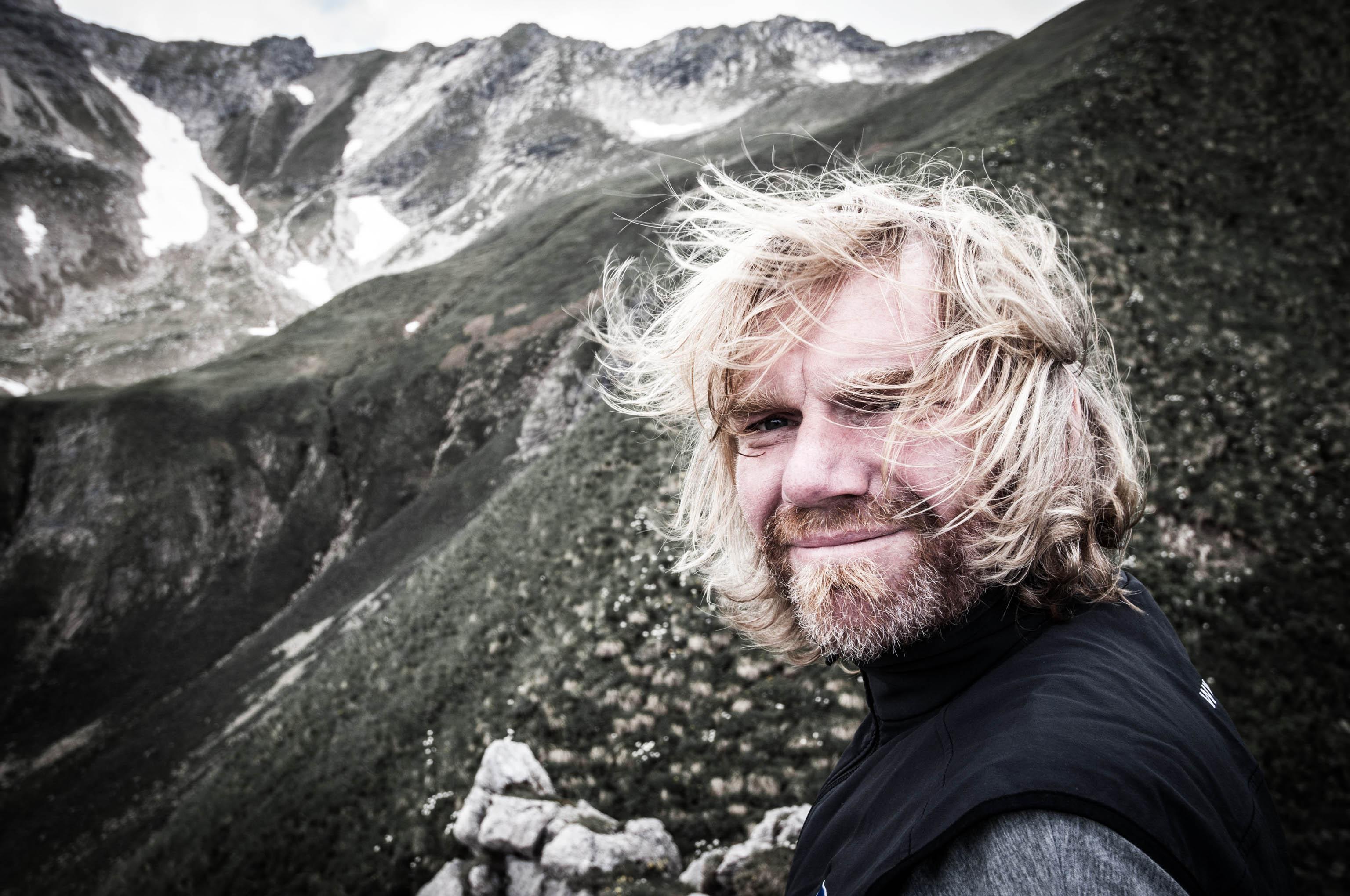 Weitwanderer Thorsten Hoyer Alpenueberquerung Chefredakteur Wandermagazin