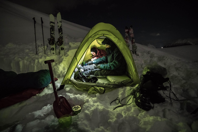 Camping, tent, winter, ski, snowboard, skitour, photoshoot, best mountain photos