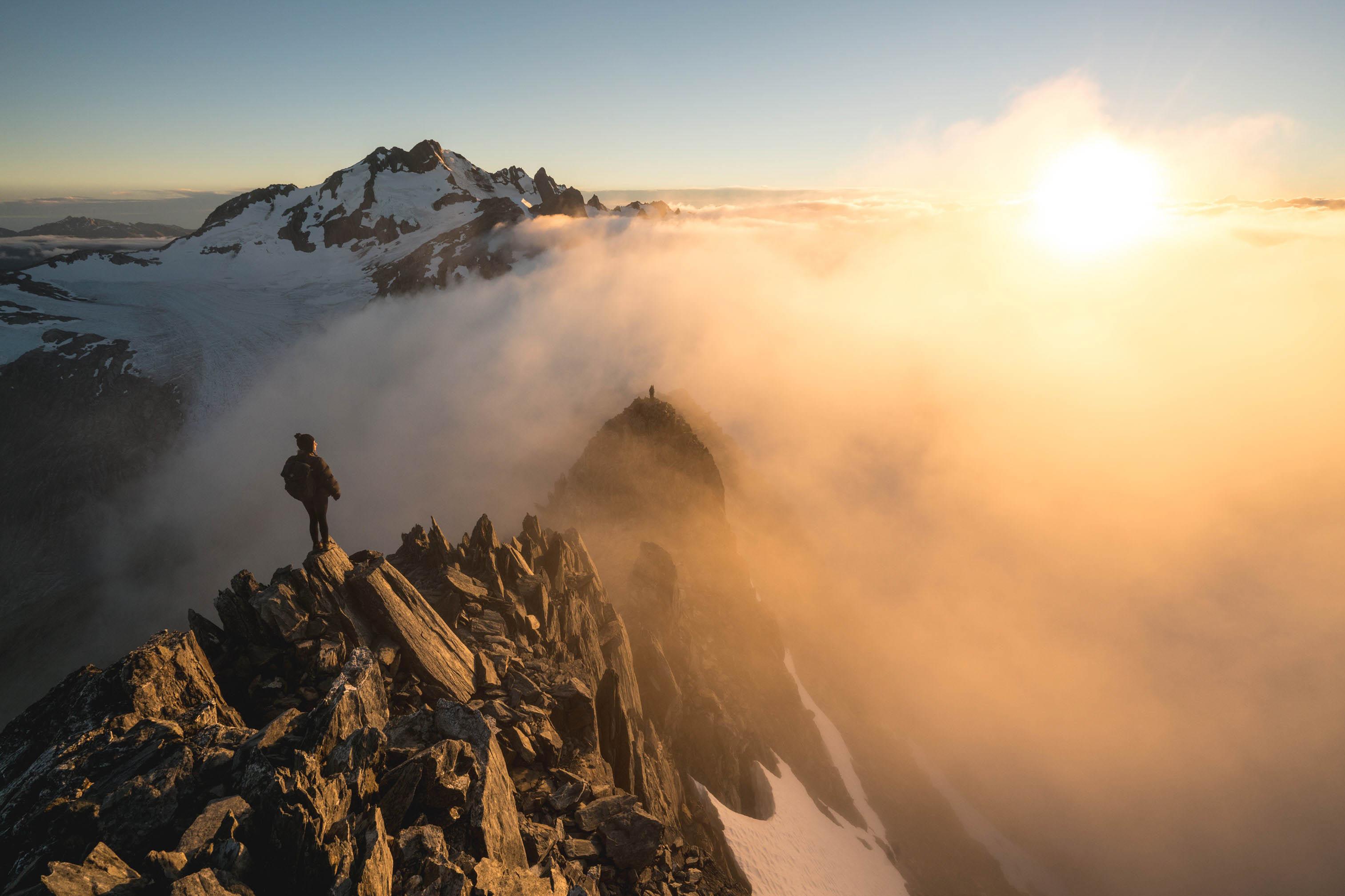 New Zealand, sunset, photo shoot, mountain landscape photography