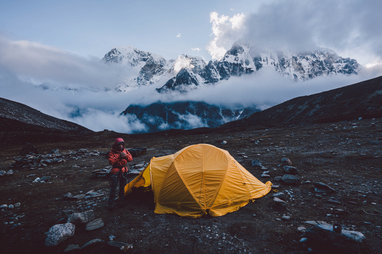 Lobuche East, mountain photography, Nepal, camping, hiking, trekking