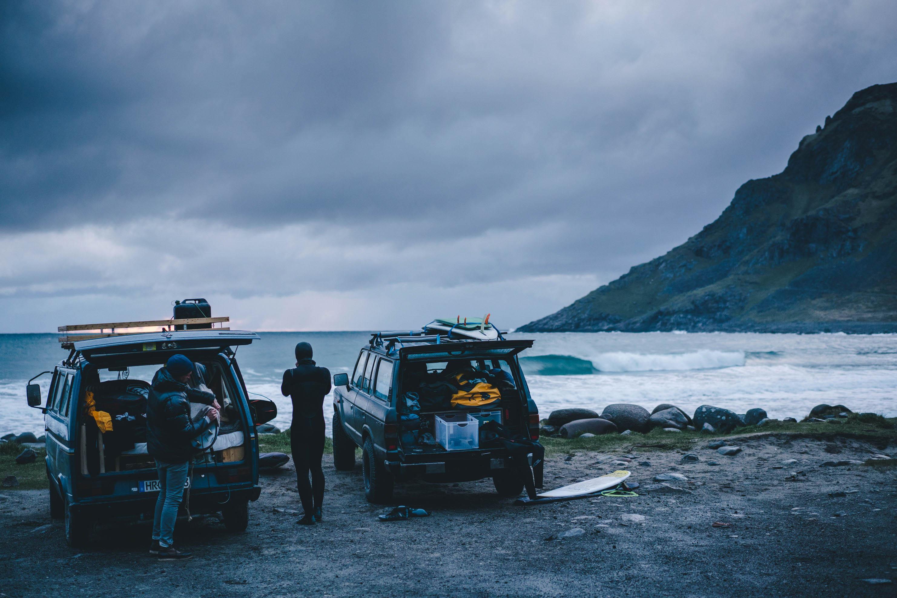 Surf, Lofoten, outdoor photography