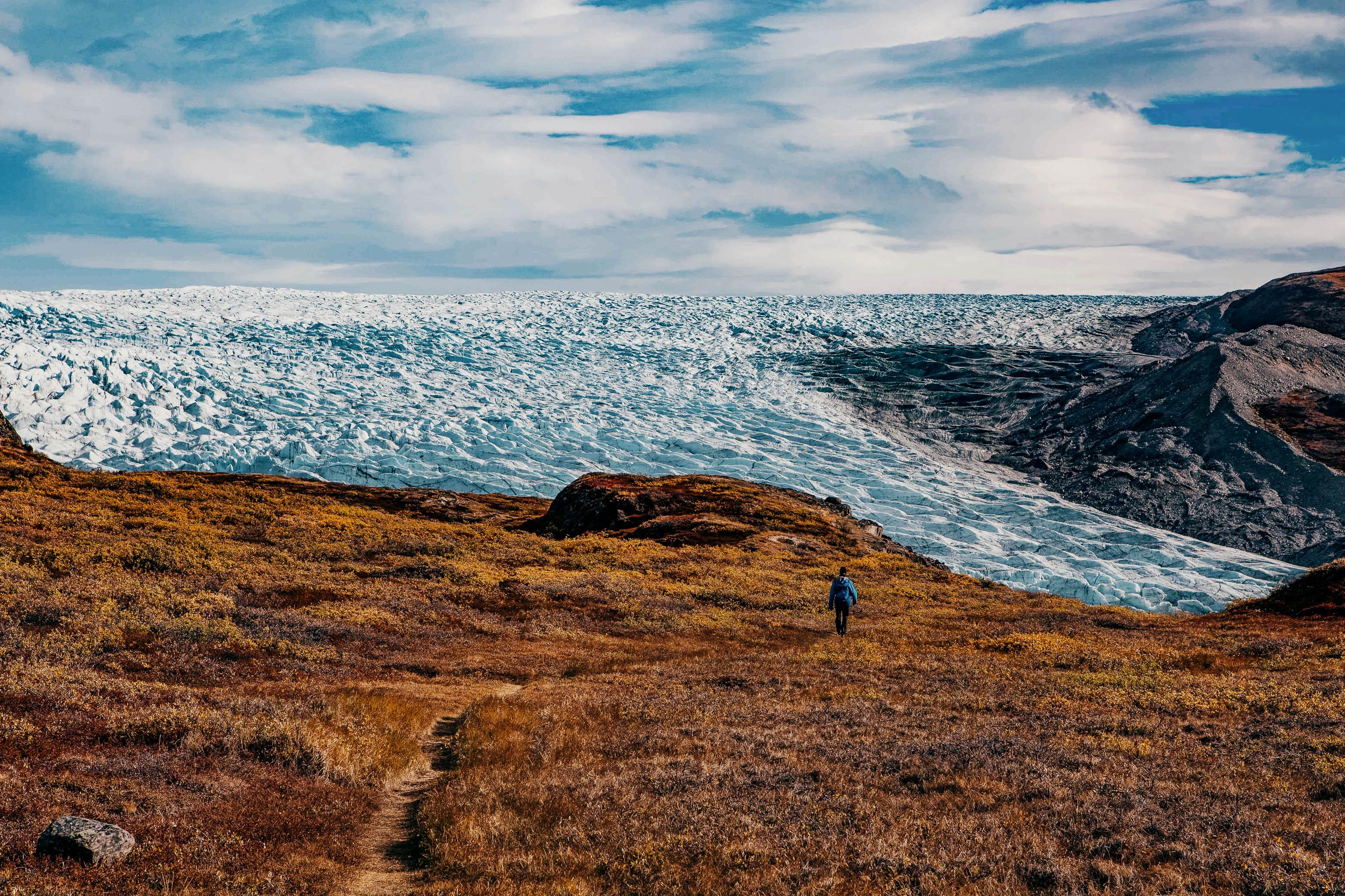 Trekking Grönland Point 660 Weg zum Inlandeis