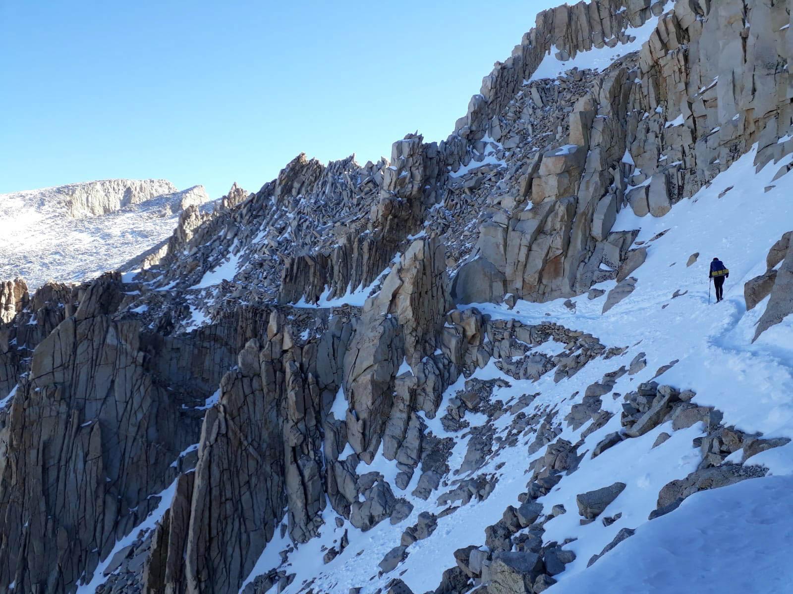 Side Trail zum Mount Whitney