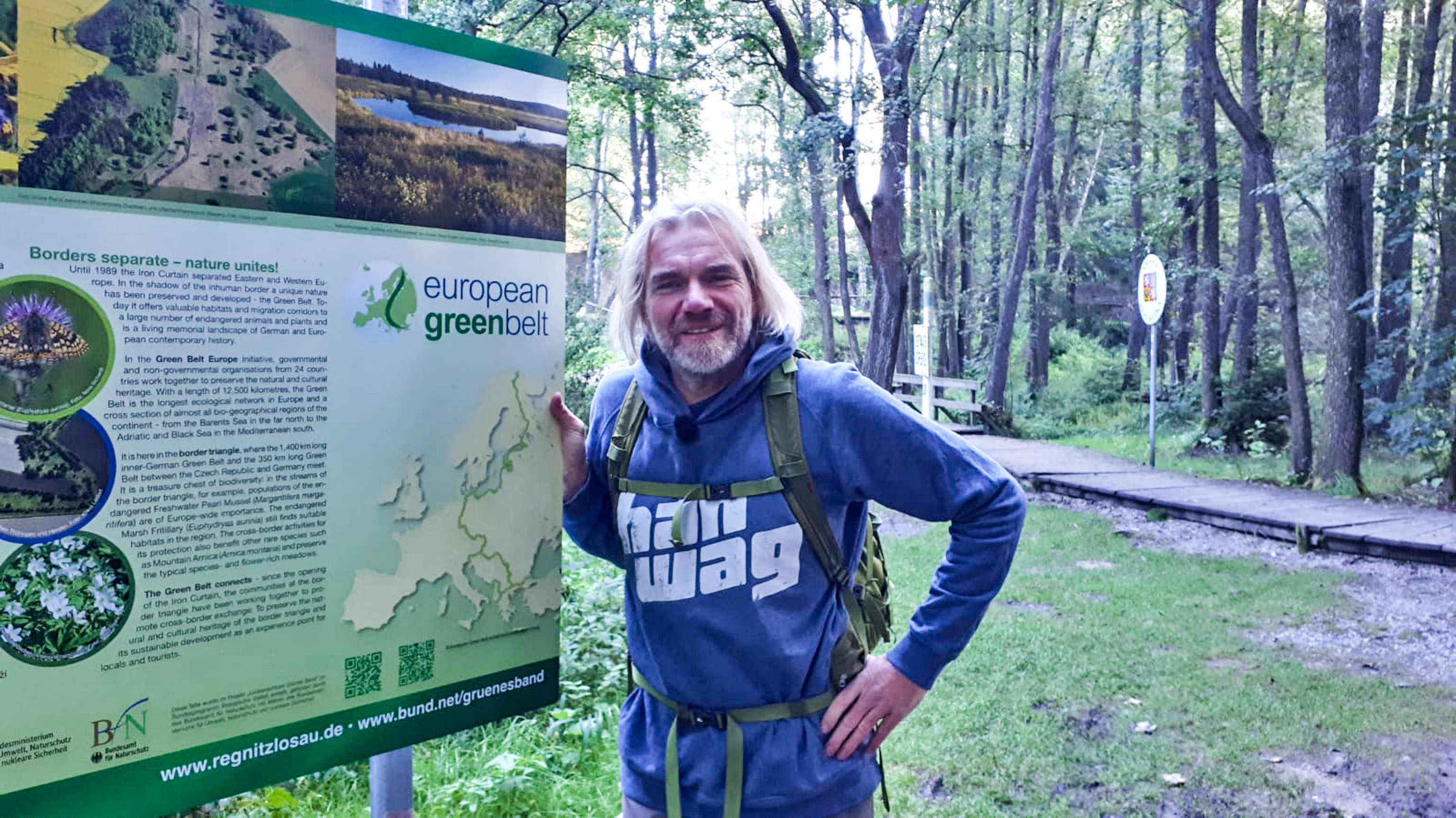 Green Belt Thorsten Hoyer - long distance hiking - hiking trails Germany - hiking in Germany - top trails in Germany - Long distance hiking trails - Long distance trails - best long distance hikes in the world