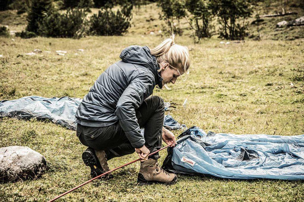 pack a lightweight tent