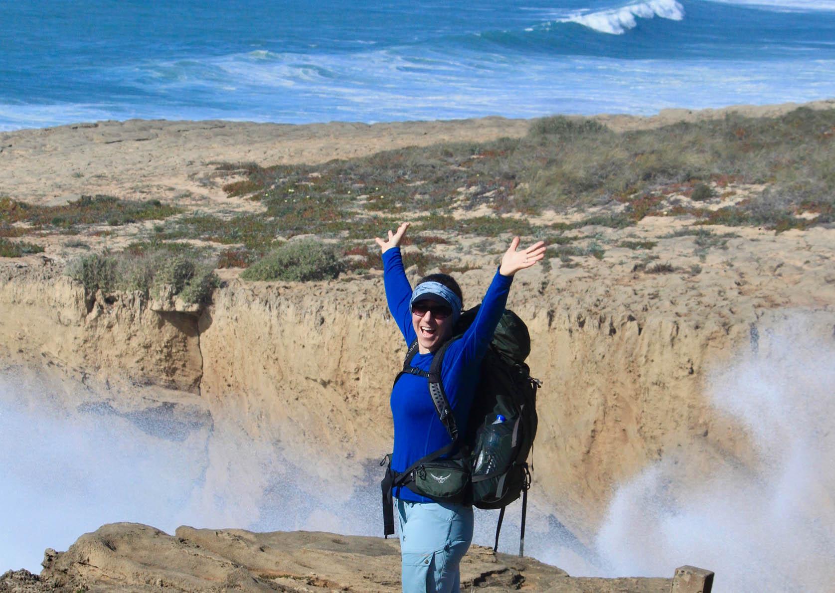 Hiking algarve Fisherman's trail portugal