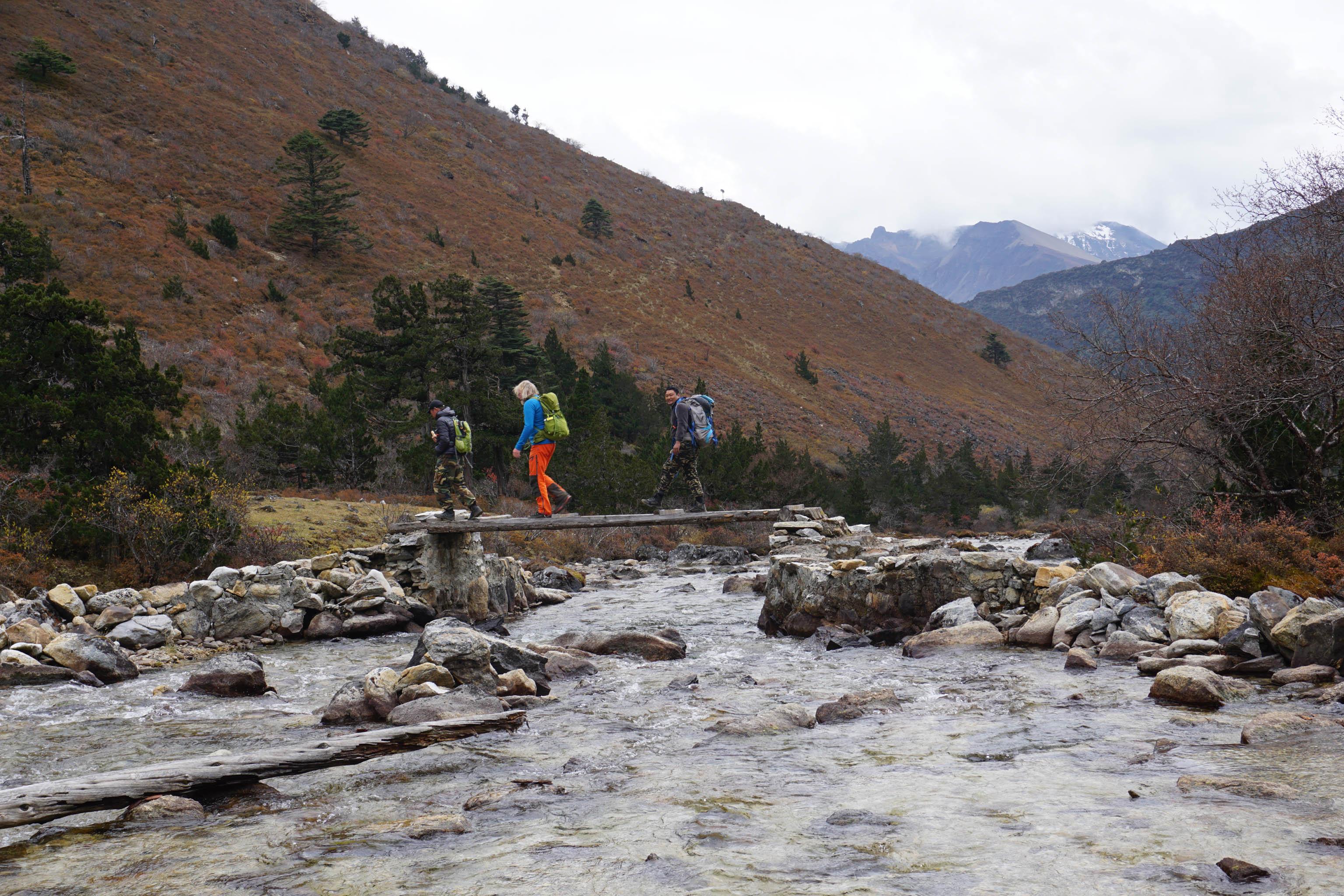 Himalaya Wandern Bhutan Trekking