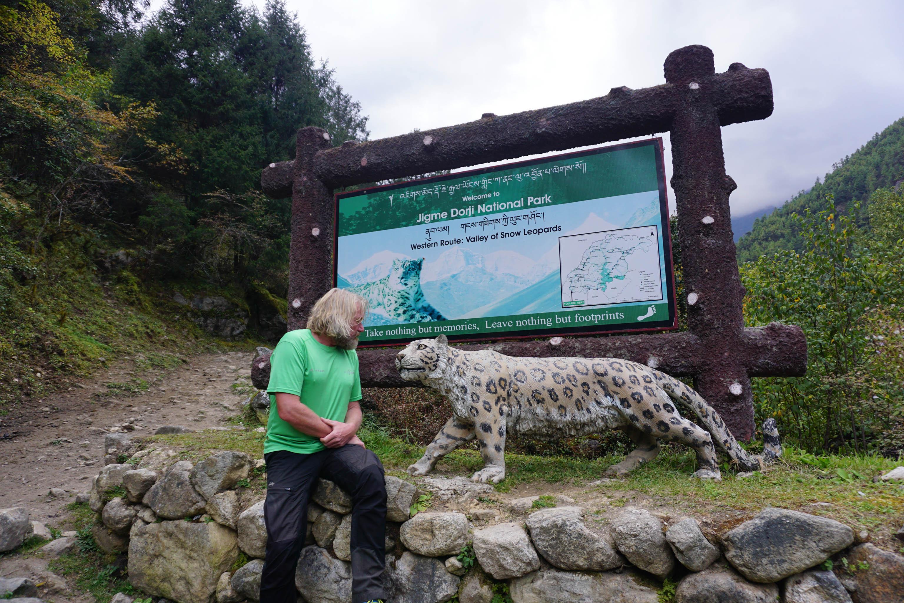 Thorsten Hoyer Trekking Himalaja Schneeleopard