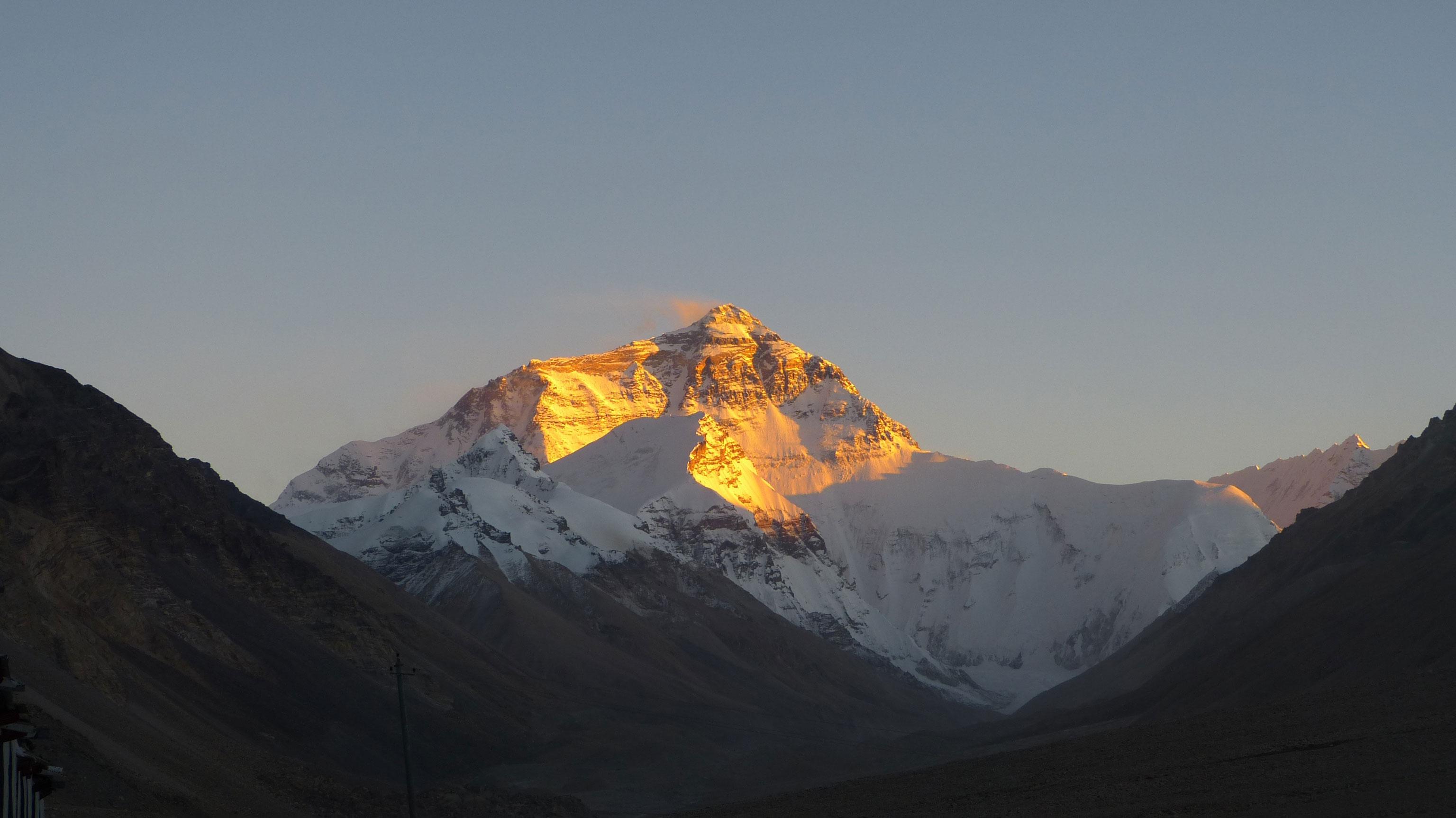 Mount Everest Erstbesteigung Versuch