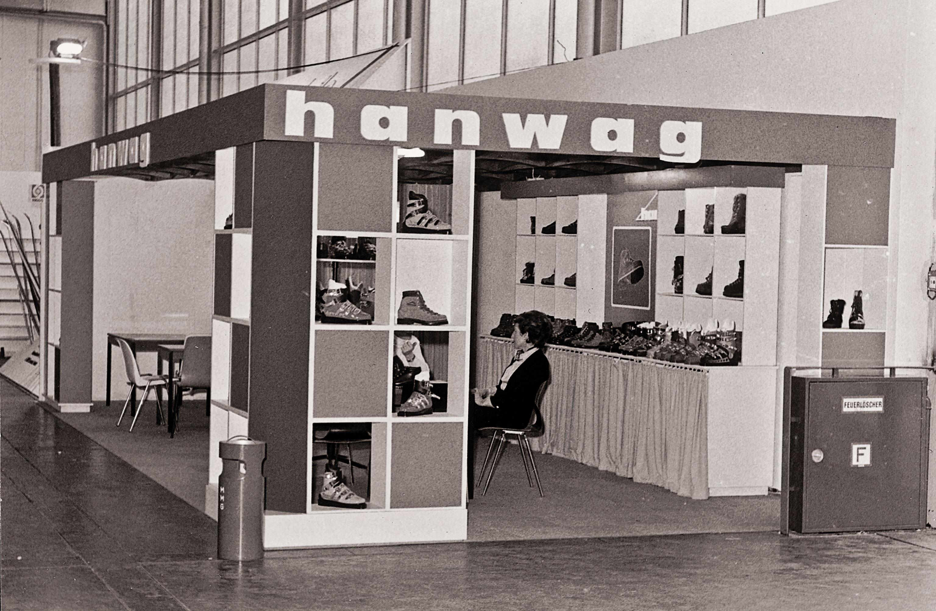 Hanwag Stand Messe Wiesbaden