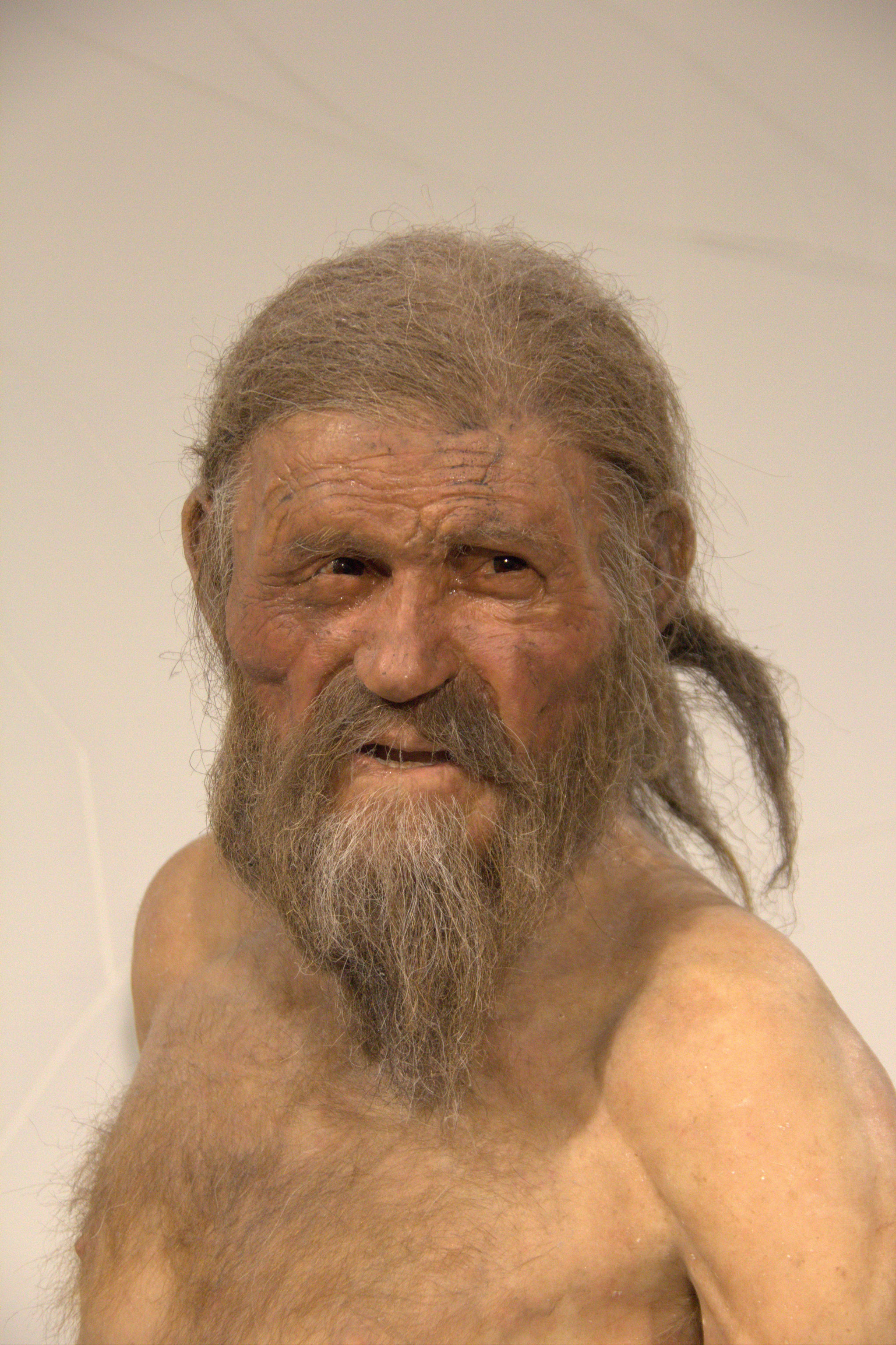 Ötzi Rekonstruktion Tisenjoch