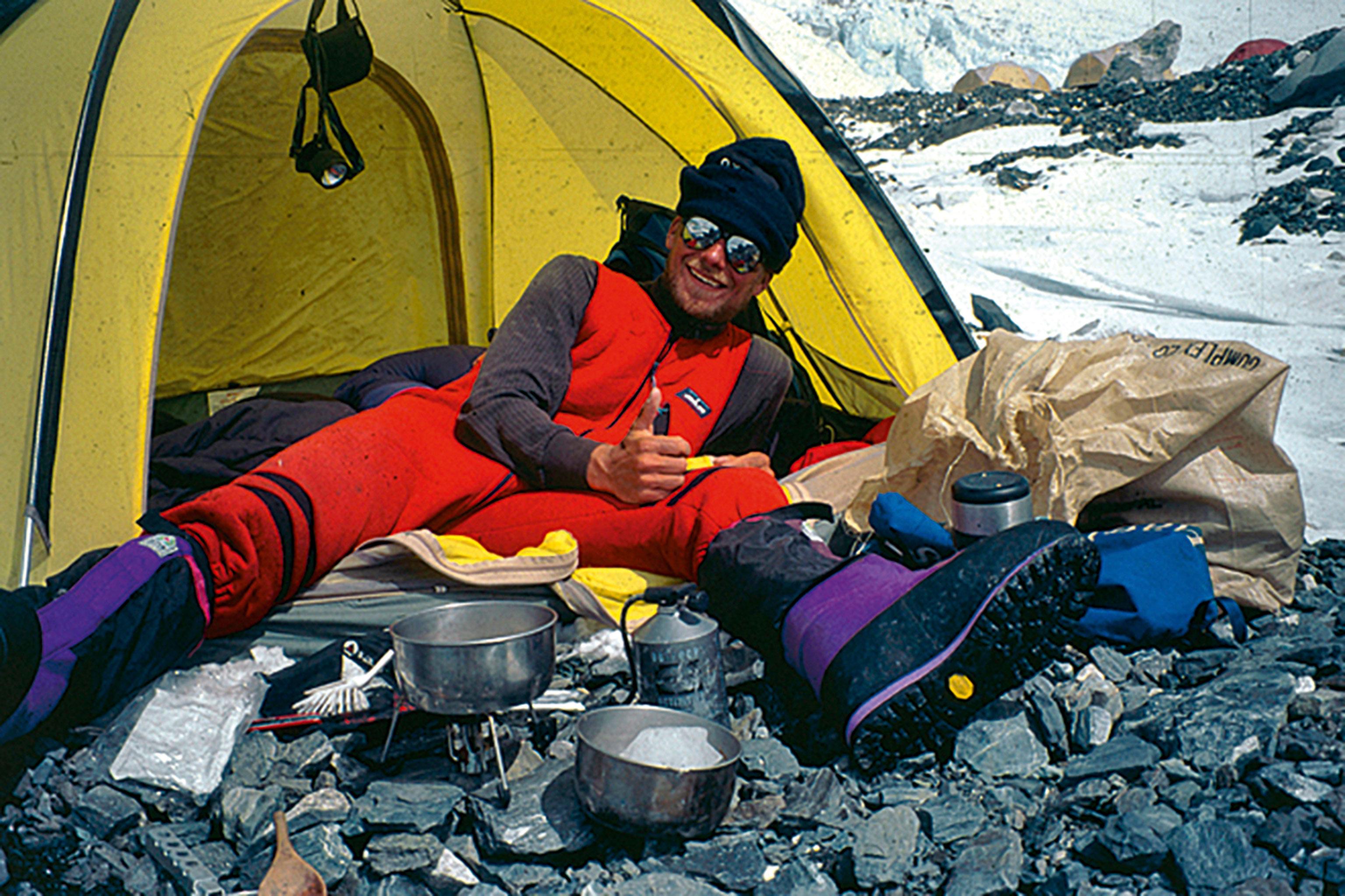 Göran Kropp Mount Everest Primus MultiFuel